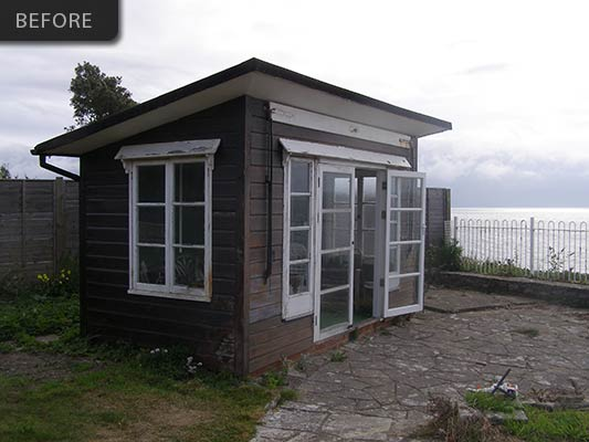 Cliff top summer house 1 anstey building and interiors for Summer homes builder
